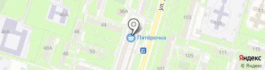Магазин женской одежды на карте Нижнего Тагила