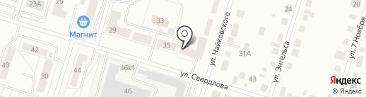 Сантехпрочистка на карте Нижнего Тагила