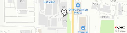 Фармпласт на карте Миасса