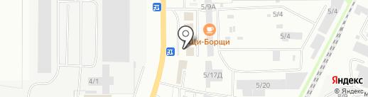 Колеса Даром на карте Миасса