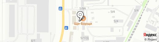 Трансмастер на карте Миасса