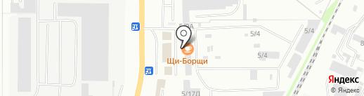 ЮУВК на карте Миасса