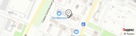 Магазин корейских салатов на карте Миасса
