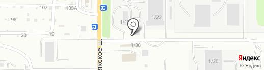Мега на карте Миасса