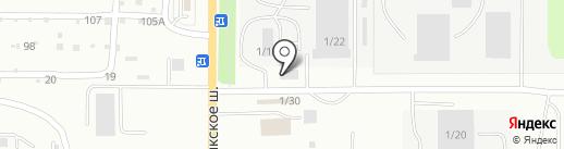 Шинторг на карте Миасса