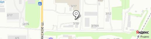 АлеКом на карте Миасса