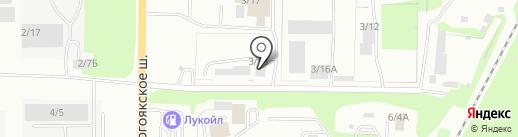 Миасский завод арматуры на карте Миасса