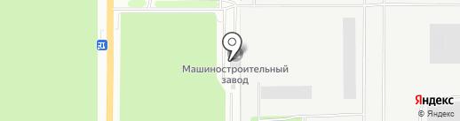 Миасский Машиностроительный Завод на карте Миасса