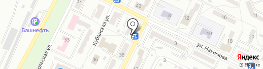Парикмахерская на карте Миасса