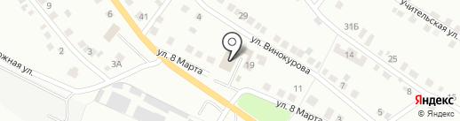 Компания по подбору водителей на карте Миасса