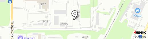 Техсервис, ЗАО на карте Миасса
