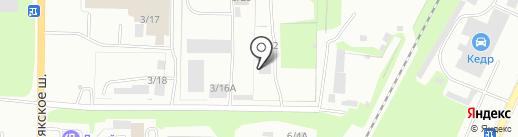 Техсервис на карте Миасса