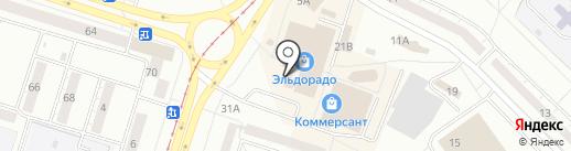 Магазин косметики и бытовой химии на карте Нижнего Тагила