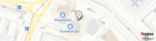 Магазин ковров на карте Нижнего Тагила