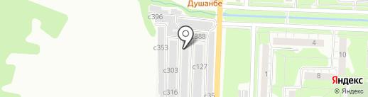 Витязь на карте Миасса