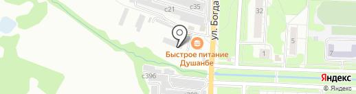 Автомастерская на карте Миасса