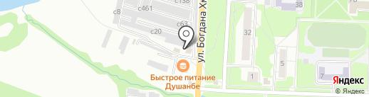 АвтоМакс на карте Миасса