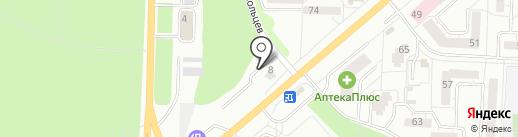 ПрокатАвто на карте Миасса