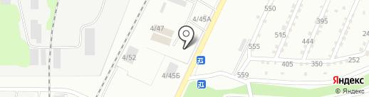 Пульмо на карте Миасса