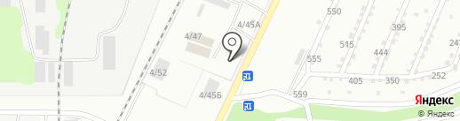 Кислород на карте Миасса
