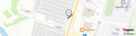 АвтоФеникс на карте Миасса