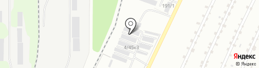 Универсал на карте Миасса