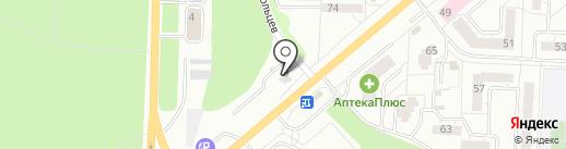 Прокат Авто на карте Миасса