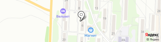 Трест Уралавтострой на карте Миасса