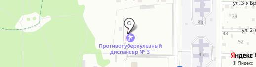 Противотуберкулезный диспансер №3 на карте Нижнего Тагила