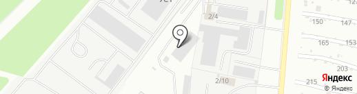Сапфир на карте Миасса