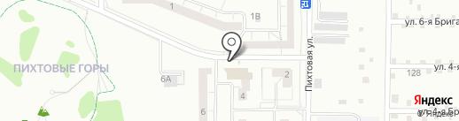 Магазин трикотажных изделий на карте Нижнего Тагила