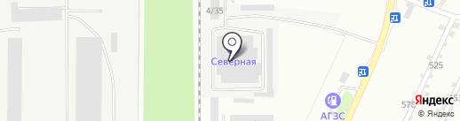Стройэнерго на карте Миасса