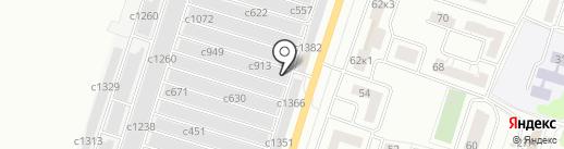 Мастерская кузовного ремонта на карте Миасса