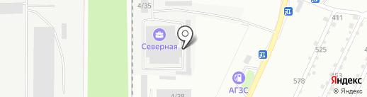 Вояж на карте Миасса