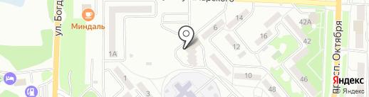 МКСТ на карте Миасса
