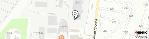 ТЕКО на карте Миасса
