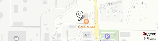 СтЭлМикс на карте Миасса