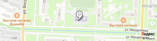Лицей №6 на карте Миасса