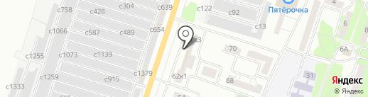 А и Б на карте Миасса