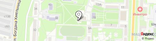 Отдел полиции №18 на карте Миасса