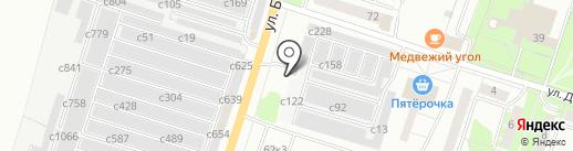 УралЦветМет на карте Миасса