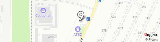 АГЗС УралАвтоГаз на карте Миасса