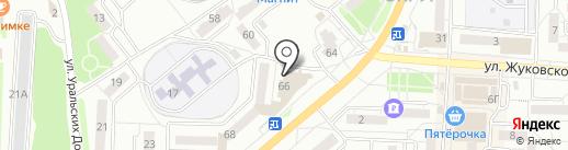 АТЛАНТИС на карте Миасса
