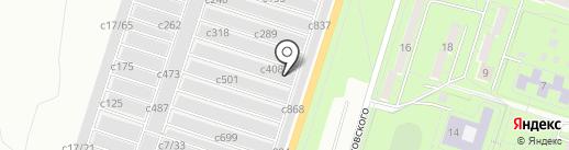 Автосервис на карте Миасса
