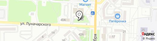 Соня на карте Миасса
