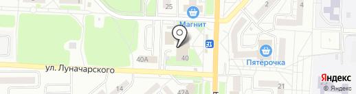 Пифко на карте Миасса