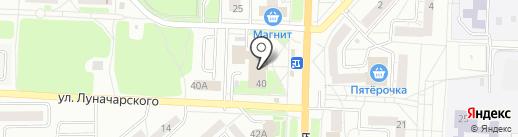 Ателье по ремонту одежды на карте Миасса