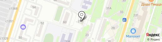 Воскобойникова Н.Н. на карте Миасса