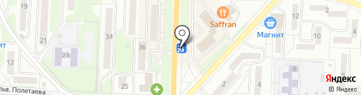 ЭкспрессДЕНЬГИ на карте Миасса