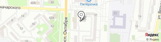 РЭЛ МГРТ на карте Миасса